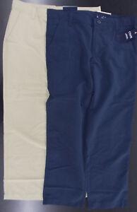 Boys Chaps $40 Uniform/Casual Khaki or Navy Wicking Pants Sizes 12Reg, 12Hk-18Hk