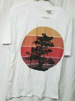 Bella Canvas Unisex  Cotton Short Sleeve Graphic T-Shirt. White, Large