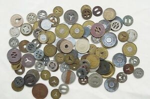 Lot of 100 Mixed Tokens transit