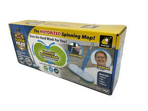 Floor Police Motorized Spin Mop Cordless Mop - Original Seen on TV by: BulbHead