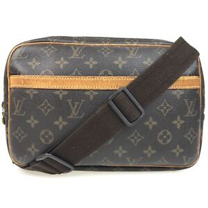100% authentic Louis Vuitton Monogram Reporter PM M45254 [Used] {04-0002}
