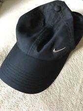 Nike Black Unisex Polyester Sports Cap Adjustable One Size