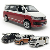 VW T6 Multivan MPV 1:32 Scale Model Car Metal Diecast Toy Kids Collection Gift