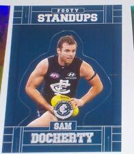 2017 AFL Select Footy Stars Standup card #FS14 Sam Docherty - Carlton