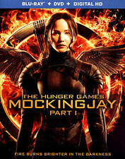 The Hunger Games: Mockingjay, Part 1 (Blu-ray/DVD, 2015, 2-Disc Set)