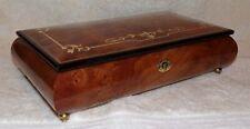 The San Francisco Music Box Co Italy Wood Music Jewelry Box