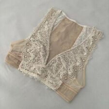 Victoria's Secret Dream Angel Nude Cream Lace Unpadded Bralette - Size XS - BNWT