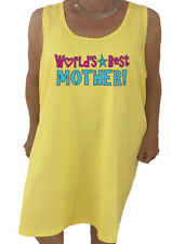 Ladies Night Gown Sleep Shirt Dress Tee Worlds Best Mother Mom Gifts