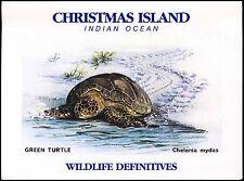 Christmas Islands 1987/1988 Wildlife SG#229a Sheetlet MNH Pres. Pack #C37076