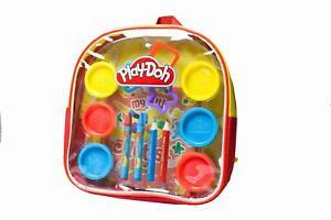 Play-Doh Knete Spielknete Spielset Kreativset Malset inkl. Rucksack 15 teilig