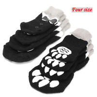 Dog Socks Paw Protector Pet Cat Socks Stop Licking Anti-Slip Rubber Indoor Wear