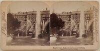 Russie Россия Palais Da Peterhof San Pietroburgo Foto Stereo Vintage Albumina