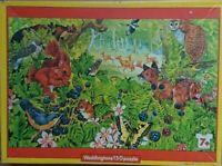 Vintage Waddingtons Nature World Woodland Jigsaw 150 Piece Puzzle 1981