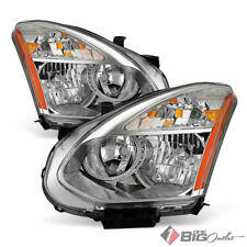 For 08-13 Rogue, 14-15 Select (Halogen Models) Replacement Headlights LH+RH Pair