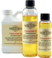Polysorbate 80, Soap making supplies, bath and body supplies. AKA Tween 80