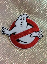 Ghostbusters Themed Iron On Patch, Ideal for School Bags, Clothes, Fancy Dress