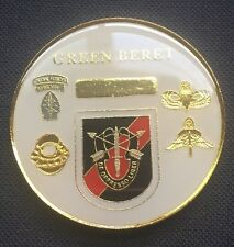 20th Special Forces Green Beret 1st Batallion Challenge Coin - A 4