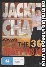 The 36 Crazy Fists DVD NEW, FREE POSTAGE WITHIN AUSTRALIA REGION ALL