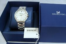 Swarovski City White Bracelet Watch, Ladies, Swiss quartz Authentic MIB 5181635