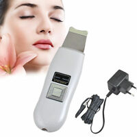 Ultrasonic Facial Care Scrubber Peeling Skin Tighten Clean Beauty SPA Machine US
