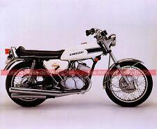 KAWASAKI 500 Mach 3 ( Mk3 Mk ) 1969 Fiche Moto 000058