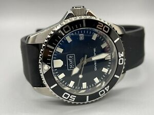 Scurfa Diver One D1-500 Watch Gloss Black