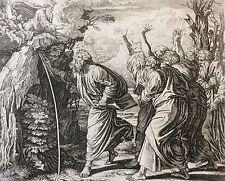 Nicolas CHAPRON ou CHAPERON 1612-1653 d'après RAPHAEL Moïse XVIII