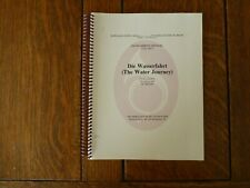 David Moritz Michael, Die Wasserfahrt (Water Journey) - Score/Parts - Moravian