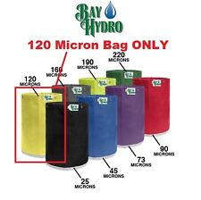 BAY HYDRO 5 Gallon 120m Micron Replacement Bubble ICE Extraction Bag QUALITY $$