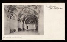 private mail north pavillon library of congress district of columbia postcard