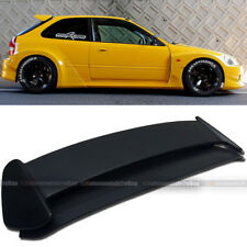 For 96-00 Civic Hatchback EK Type-R Style Unpainted ABS Roof Wing Spoiler
