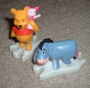 Disney Winnie the Pooh Piglet & Eeyore McDonald's Happy Meal Toys Puzzle Train