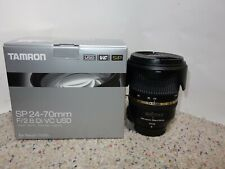 Tamron SP A007 24-70mm f/2.8 Di VC USD Lens For Nikon USA!!