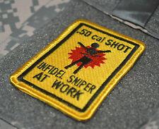 KILLER ELITE JSOC JTF NINJA NETWORK RANGERS burdock SSI: Indifel Sniper at Work