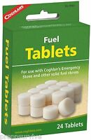 24 HEXAMINE ESBIT FUEL TABLETS FOR EMERGENCY STOVES, FIRE KEEP, WARM, COOK!