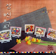 """Jangsingu - Korean traditional personal ornaments"" counted cross stitch pattern"