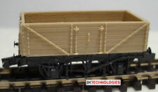 Peco KNR-220 9' Wheelbase Open 7 Plank Wagon 'N' Gauge WAGON KIT New Boxed