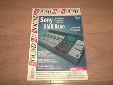 SOUND ON SOUND MAGAZINE JULY 2000 / SONY DMX R100 / ERIC PERSING / SPIRIT 324