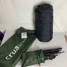 Crua Hybrid 1-Person Tent/Hammock- Green (*BRAND NEW)