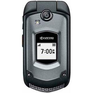 NEW Kyocera DuraXTP E4281 - Black (Sprint) PTT 3G Rugged Camera Flip Cell Phone