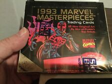 1993 SkyBox Marvel Masterpieces Trading Cards Factory
