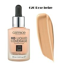 Catrice HD Liquid Coverage Foundation 24h Mattifying Effect ROSE BEIGE 30ml