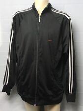 Nike Mens 2xl Black Fleece Jacket Full Zip JHC