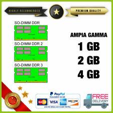 RAM 1GB 2GB 4GB 8GB DDR DDR2 DDR3 DDR4 LAPTOP Notebook Portatile No Ecc buffered
