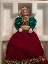 Holiday Jewel Fine Bisque Porcelain meticulously Hand Painted Doll