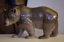 Art Nouveau Bing & Grondahl B&G Figurine 2213 Brown Bear Royal Copenhagen