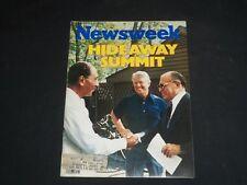 1978 SEPTEMBER 18 NEWSWEEK MAGAZINE - CARTER, BEGIN, SADAT SUMMIT - NW 254