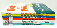 7 Children's Books Dr Seuss I Can Read It All By MySelf Beginner Books HC