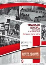 Social work: concept and methodology. Expedited shipping (spain)