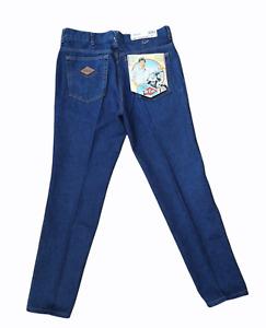 Vintage 1980s w/ Tags Lee Cooper Dark Blue Denim Jeans - W36 L30